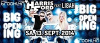 Harris & Ford feat. Lisah live on stage Big Re-opening@Brooklyn