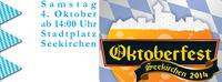 Okttoberfest in Seekirchen@Die kleine Bar