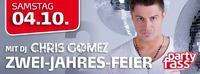 2 Jahresfeier mit Dj Chris Gomez