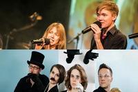 Frauen:Musik: Wiener Blond / The Little Band From Gingerland@Arena Bar Variete Theater Cafè
