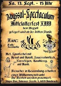 Abyssal Spectaculum - Mittelalterfest XIII@Abyss Bar
