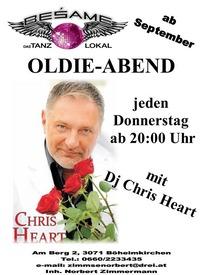 Oldie-Abend mit DJ Chris Heart