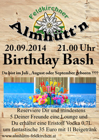 Birthday Bash