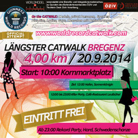 Guiness World Record - The Longest Catwalk of the World@Kornmarktplatz