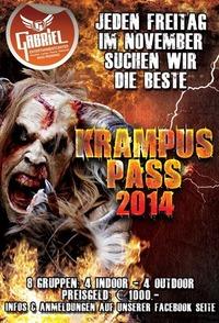 Krampus Pass 2014   @Gabriel Entertainment Center