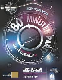 180+ Minuten Party