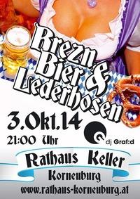Brezn, Bier und Lederhosen