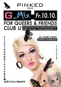 G-Mix im Club U - Wir ziehen ein