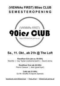 90ies Club: Semesteropening!