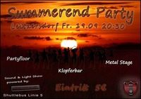 Summerendparty III@Veranstaltungswiese