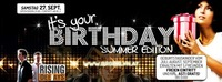Its your Birthday - Juli, August, September@Brooklyn