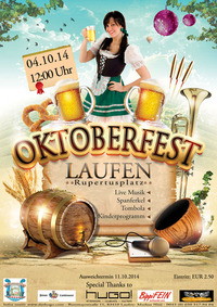 Oktoberfest Laufen@Hugo! Afterwork-Clubcafe-Kultbar