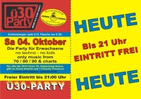 Ü30-Party@Bienenkorb Schärding