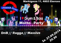 Drum and Bass Motto Party@Underground Electronic Music Bar