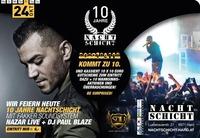 10 Jahre Nachtschicht Hard ::: Nazar Live + Dj Paul Blaze@Nachtschicht