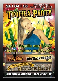 Tequila Party@Excalibur