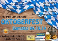 4. Neuhofener Oktoberfest@Stockhalle