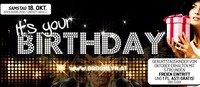 Its your Birthday - Geburtstagskinder Oktober@Brooklyn