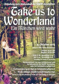 Take Us To Wonderland