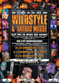 Wildstyle & Tattoo Messe@Tabakfabrik