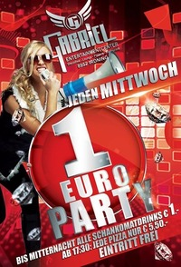 1Euro  Party@Gabriel Entertainment Center