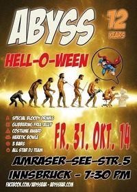 Hell-O-Ween + 12 Jahre Abyss@Abyss Bar
