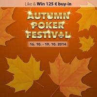 Autumn Poker Festival@Casino Korona Kranjska Gora