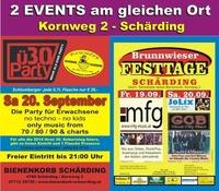 Ü30-Party + Brunnwieser Festtage@Bienenkorb Schärding