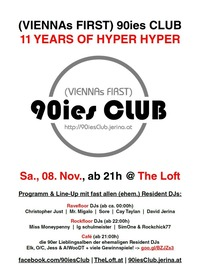 90ies Club: 11 Years of Hyper Hyper!@The Loft