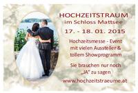 Hochzeitstraum, Hochzeitsmesse & Event@Schloss Mattsee