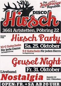 Hirsch Party - Hol dir deinen Gutschein@Da Hirsch