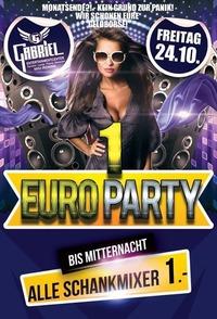 1 Euro Party@Gabriel Entertainment Center