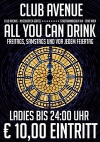 All you can Drink@Club Avenue