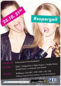 PIB Clubbing | #supergeil@Kulturzentrum Perchtoldsdorf
