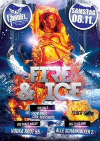 Fire  Ice   @Gabriel Entertainment Center