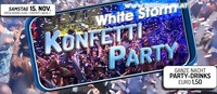 Konfetti Party - White Storm@Brooklyn