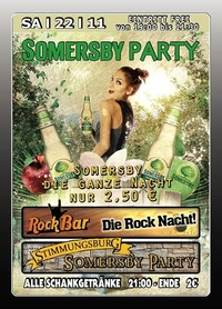 Somersby Party@Excalibur