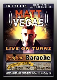 Matt Vegas Live On Turns@Excalibur