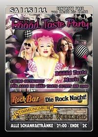 Bäääd Taste Party@Excalibur