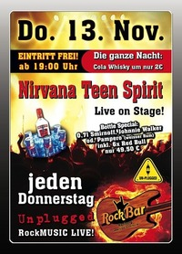 Nirvana Teen Spirit Live@Excalibur
