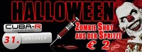 Halloween - Zombie Shot  Euro 2,-