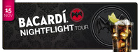 Bacardi Night Flight tour@Evers