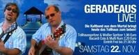 Geradeaus-live