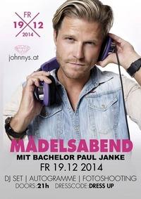Mädelsabend mit Star DJ Paul Janke@Johnnys - The Castle of Emotions