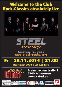 Steel Rocks live