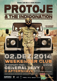 Protoje & The Indiggnation Band +General Levy