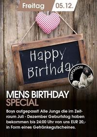 Mens Birthday Special
