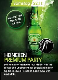 Heineken Premium Tour