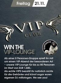 Win the V.I.P. Lounge