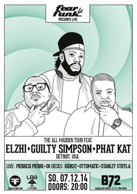 Guilty Simpson, Elzhi & Phat Kat (Detroit, USA) presented by Fear le Funk